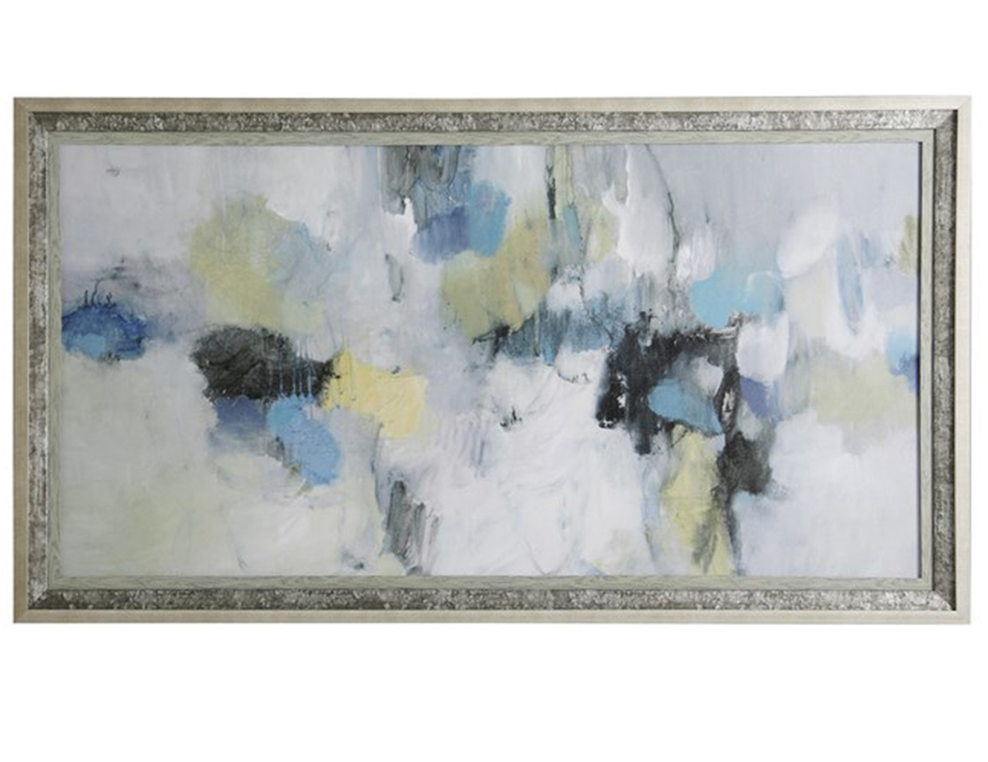 "Framed Abstract Print 67""W x 37""H"