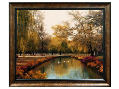 "Weeping Willow Print 48""W x 38""H"