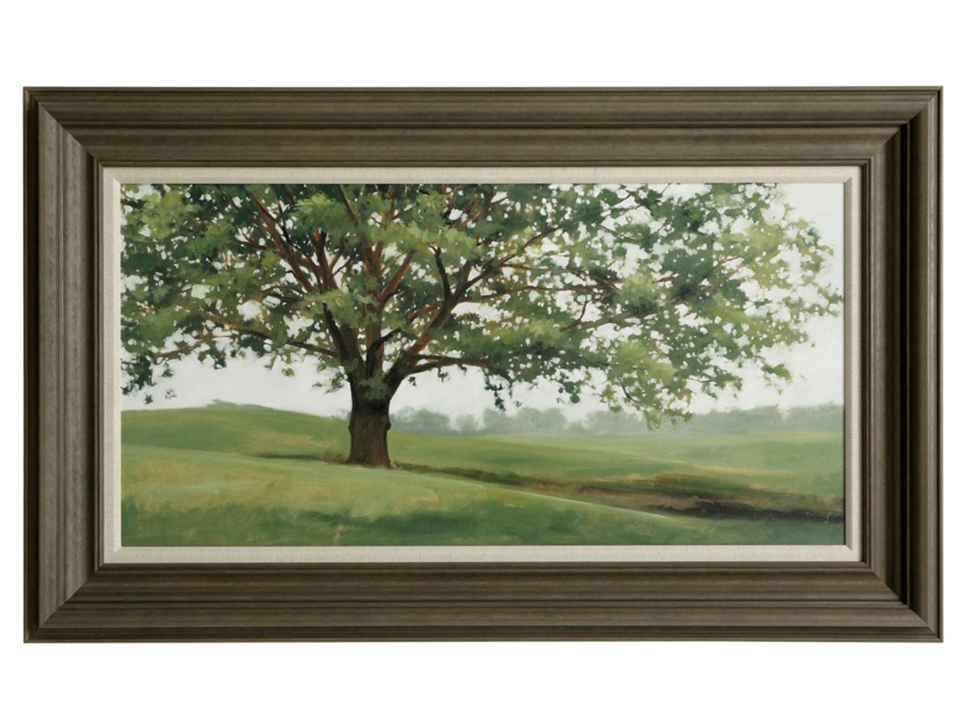 "Spring Tree Textured Framed Print 60""W x 36""H"