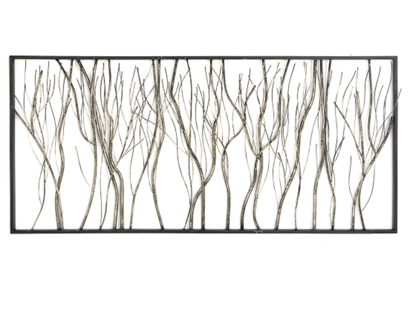 "Branches Metal Wall Decor 48""W x 22""H"