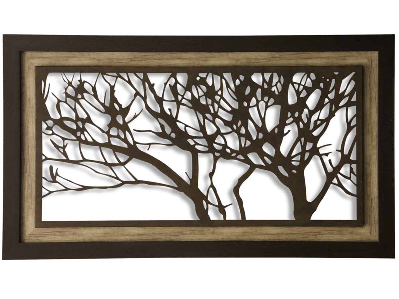 "Metal Tree Wall Decor 59""W x 35""H"