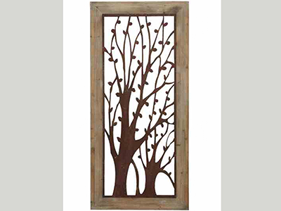 "Tree Wall Plaque 26""W x 56""H"