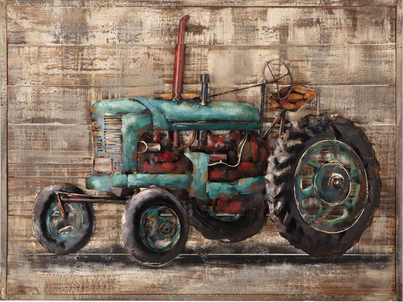 "Tractor Dimensional Wall Art 31.5""W x 23.5""H"