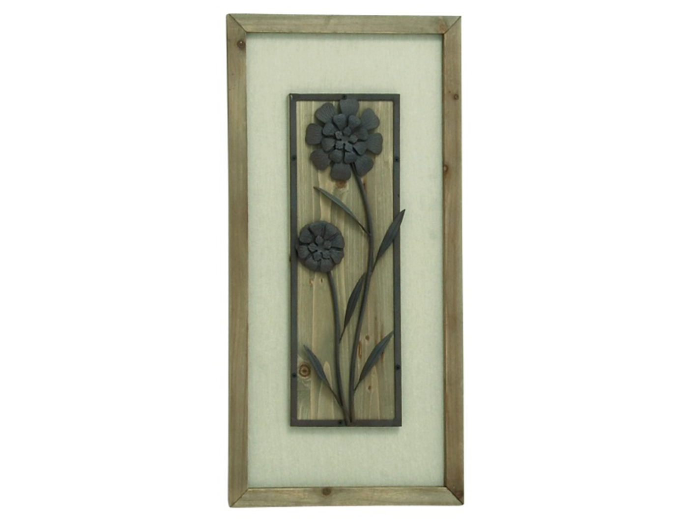Flowers Wall Plaque
