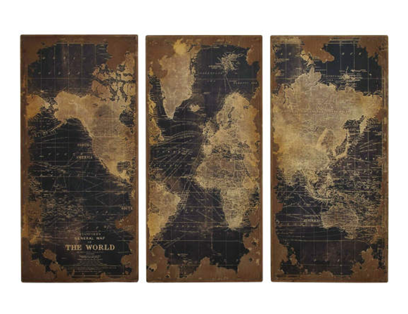 World Wall Panels Set