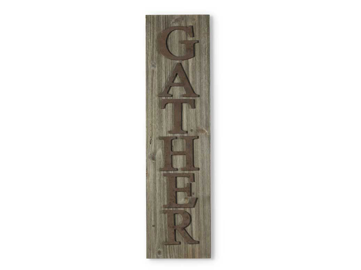 """Gather"" Wall Decor 9.5""W x 35.5""H"