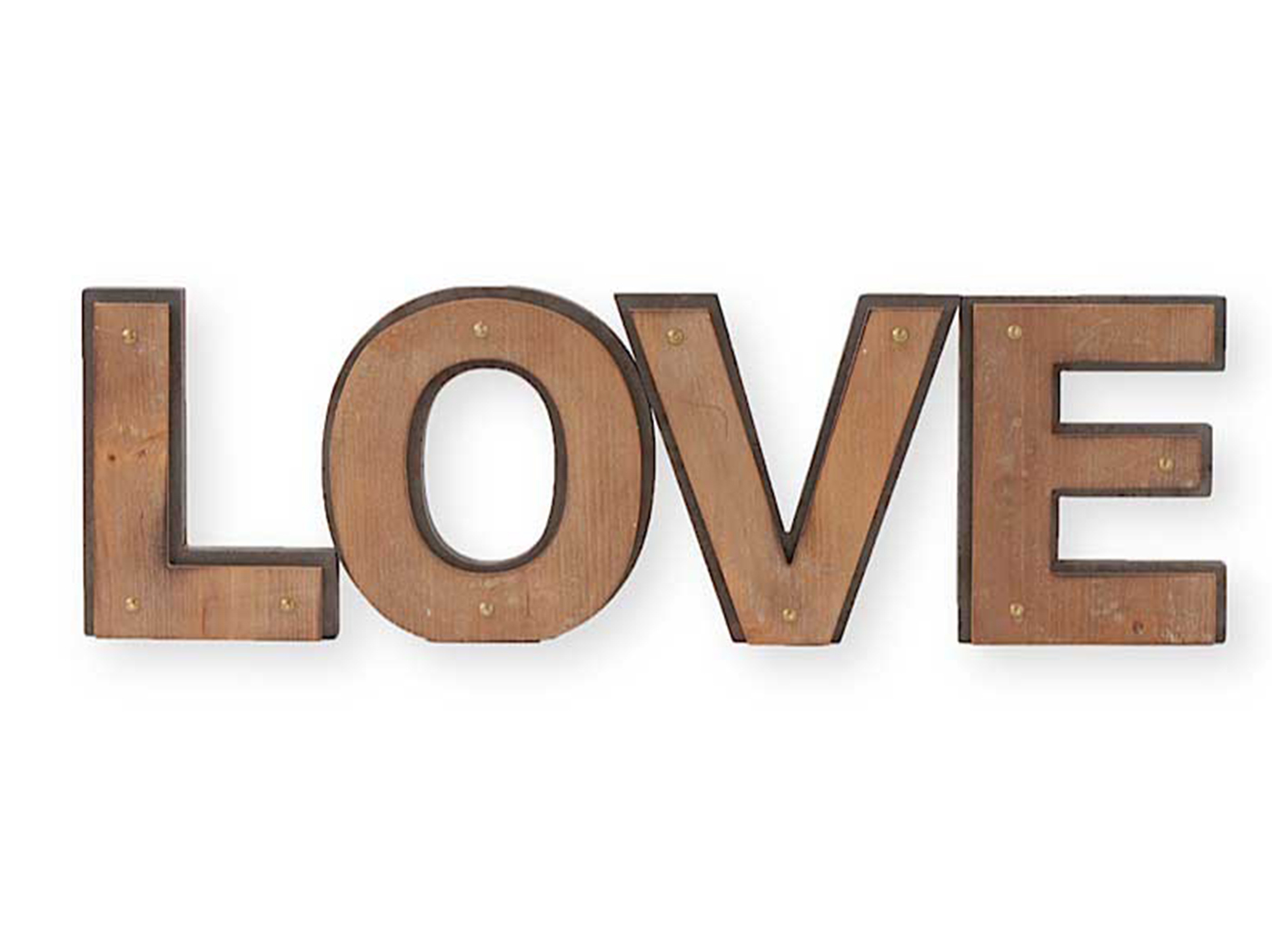 "Love Wall Decor 26""W x 8""H"