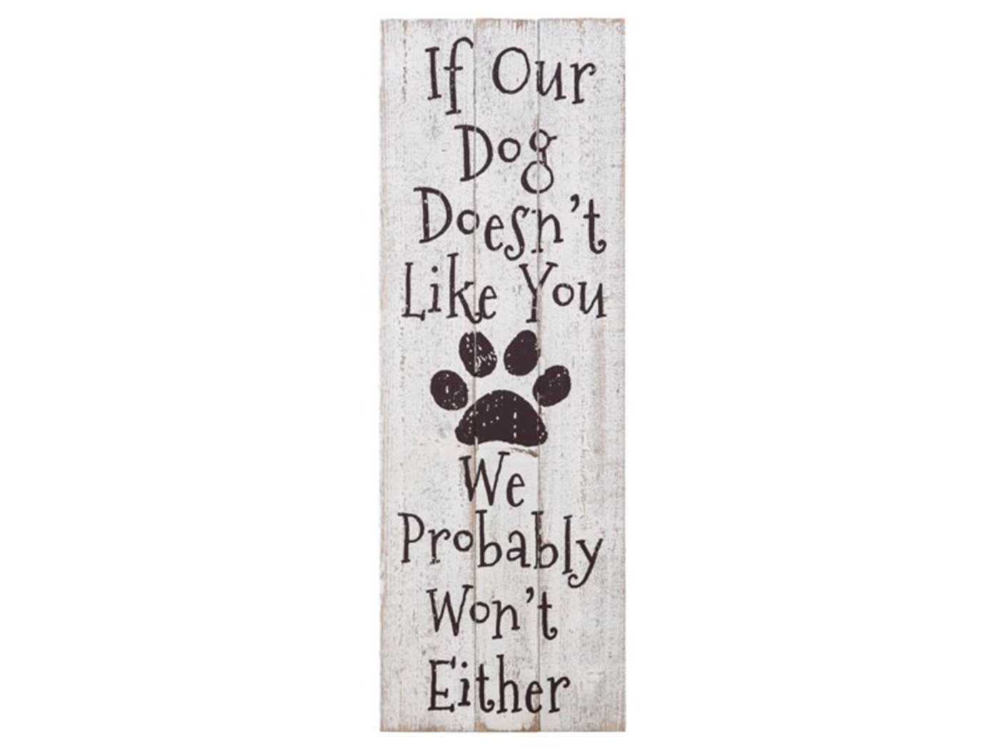 "Dog Wall Decor 12""W x 36""H"