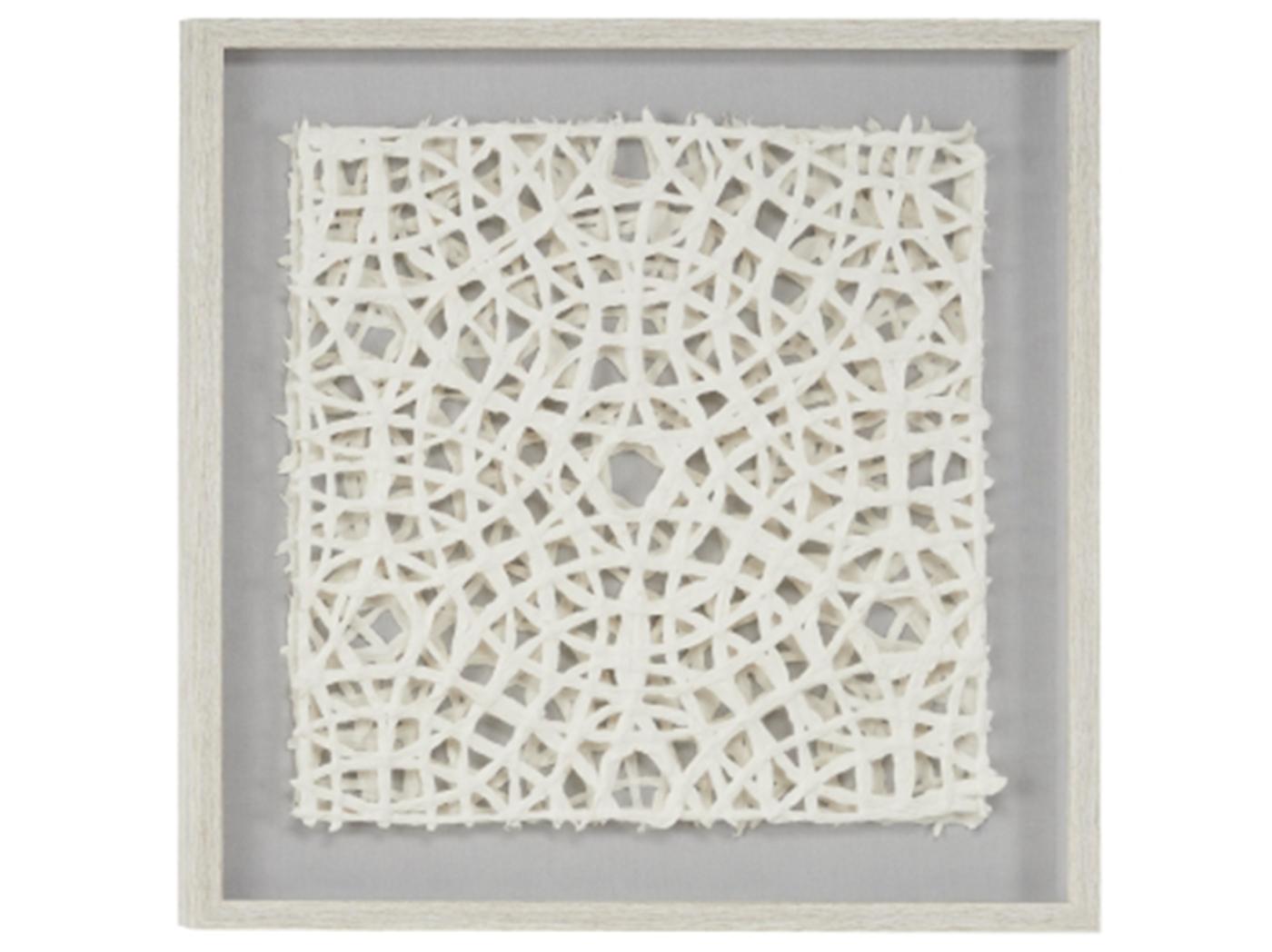 White Paper Wall Art 24 W X 24 H Steinhafels