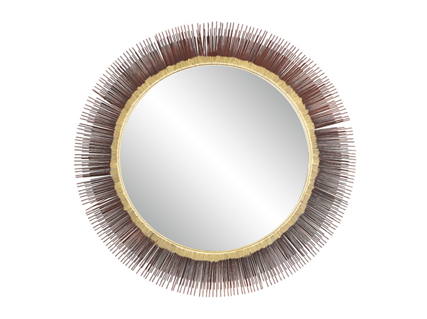 Sunburst Round Wall Mirror 36""