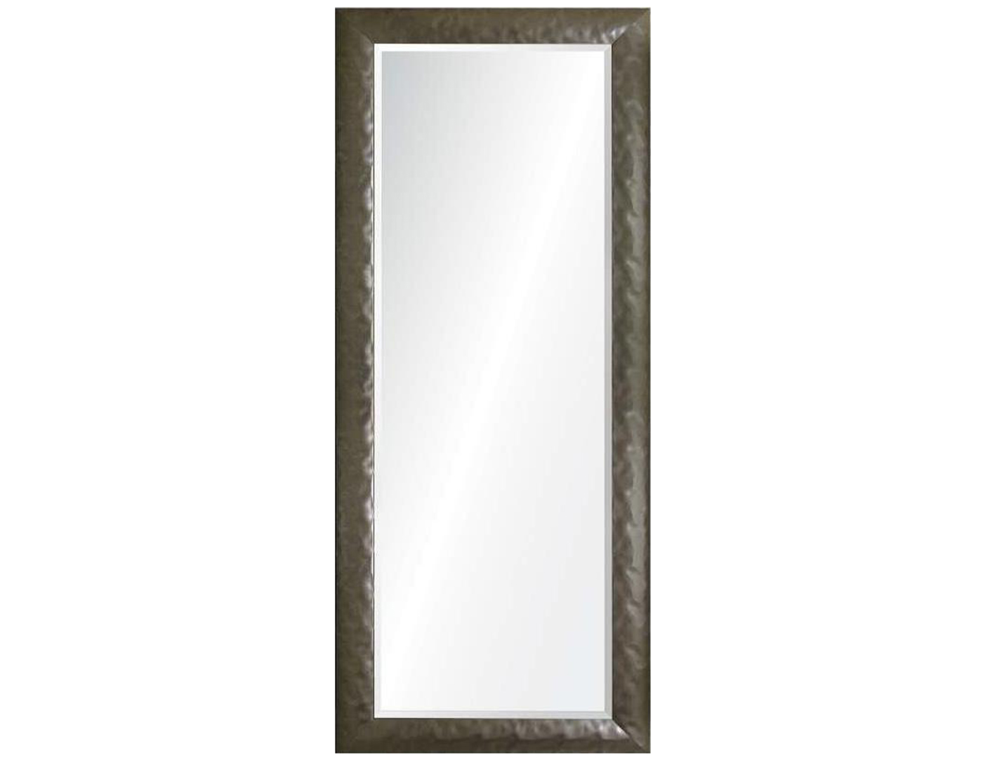 Pewter Hammered Leaner Mirror