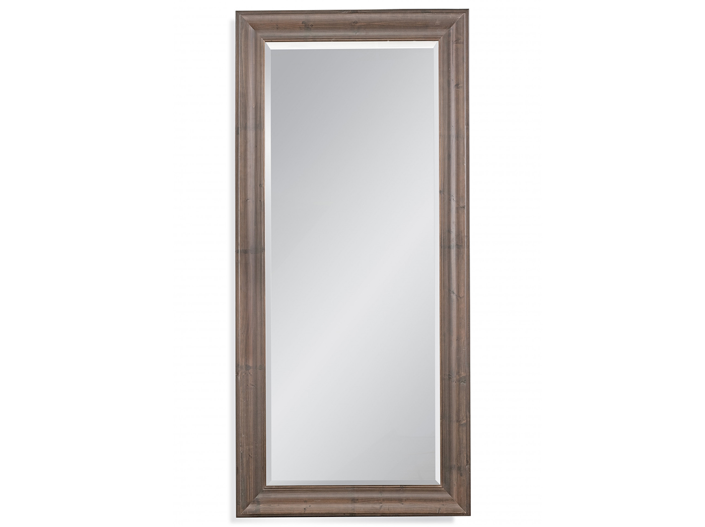 "Rustic Brown Leaner Mirror 38""W x 80""H"