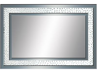 Bling Beveled Wall Mirror