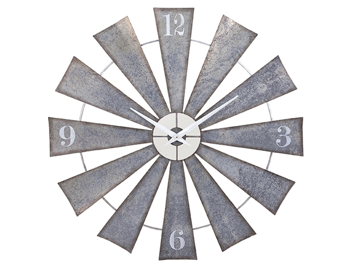 Windmill Wall Clock 48""