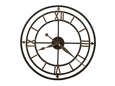 "Howard Miller York Station Wall Clock 21""Dia."