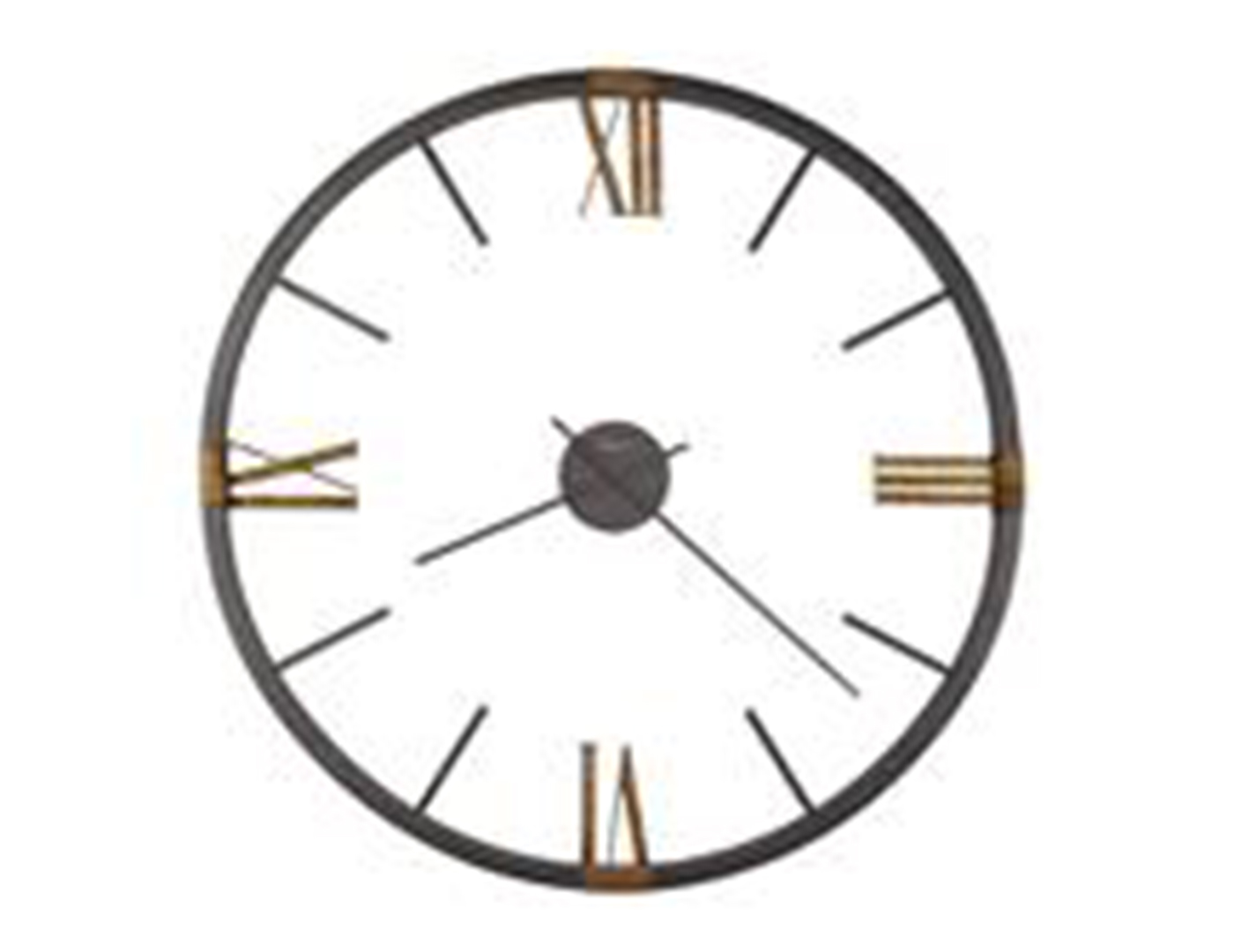 Howard Miller Prospect Wall Clock 60""