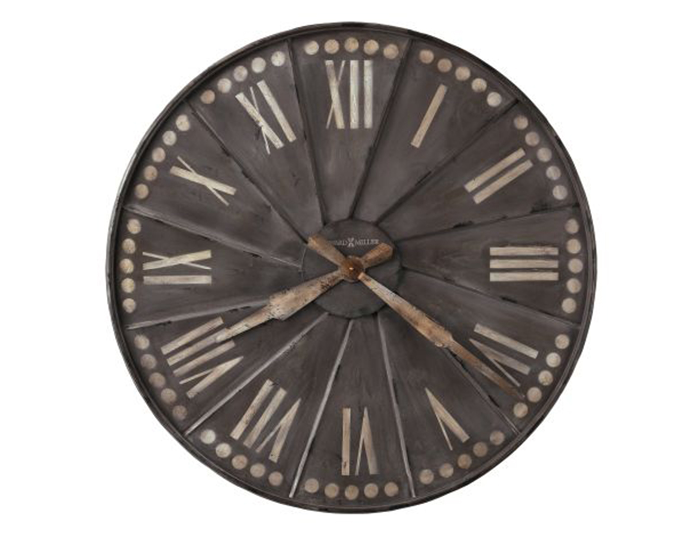 Howard Miller Ant.Charcoal Wall Clock 35""