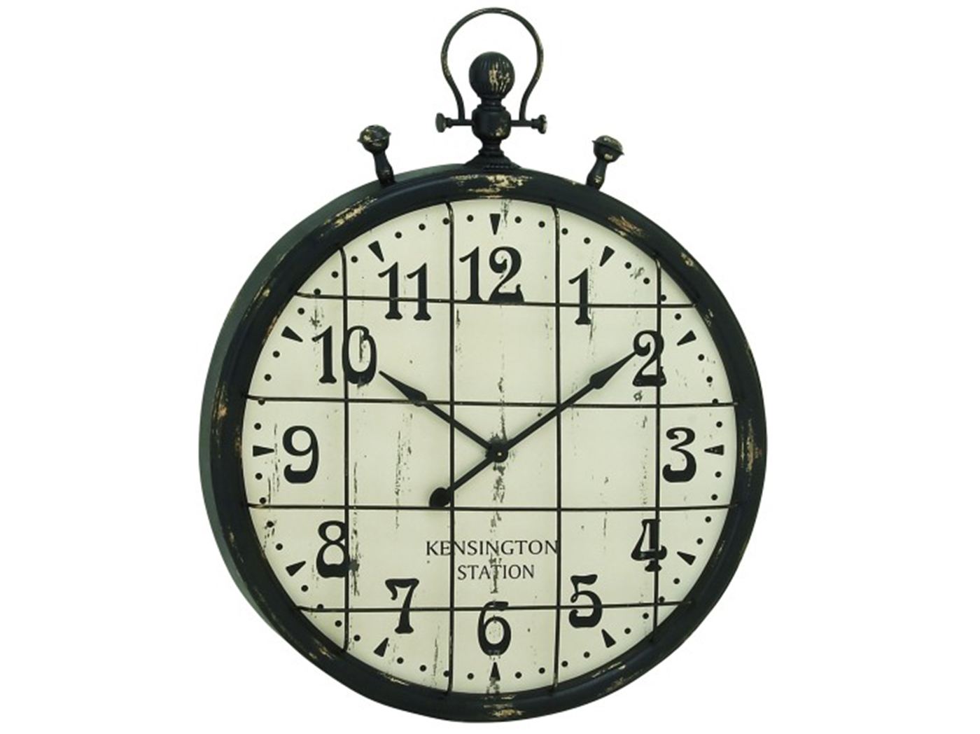 "Kensington Station Wall Clock 39""W x 50""H"