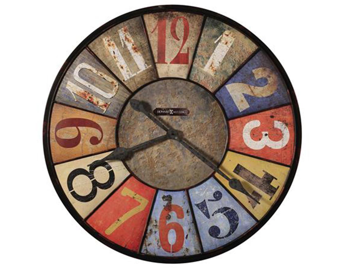 Steinhafels Park Slope Wrought Iron Wall Clock