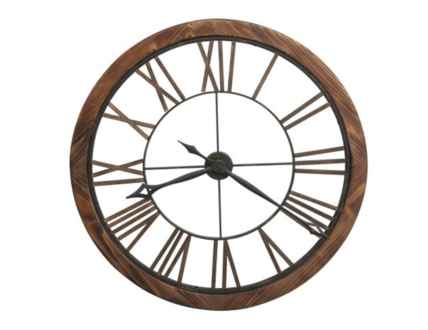 Howard Miller Metal/Wood Wall Clock 32.25""