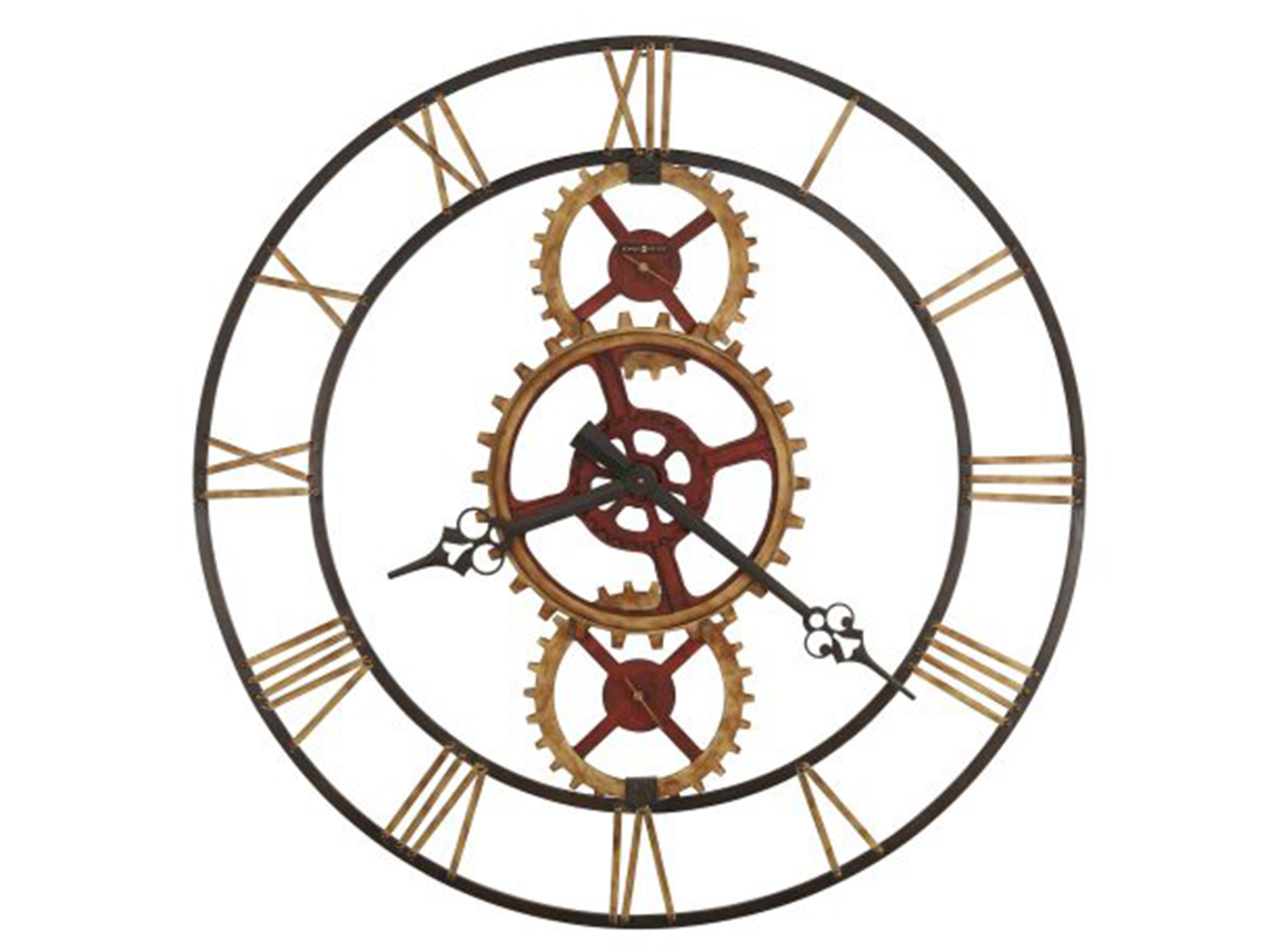 Howard Miller Gears Wall Clock 49""