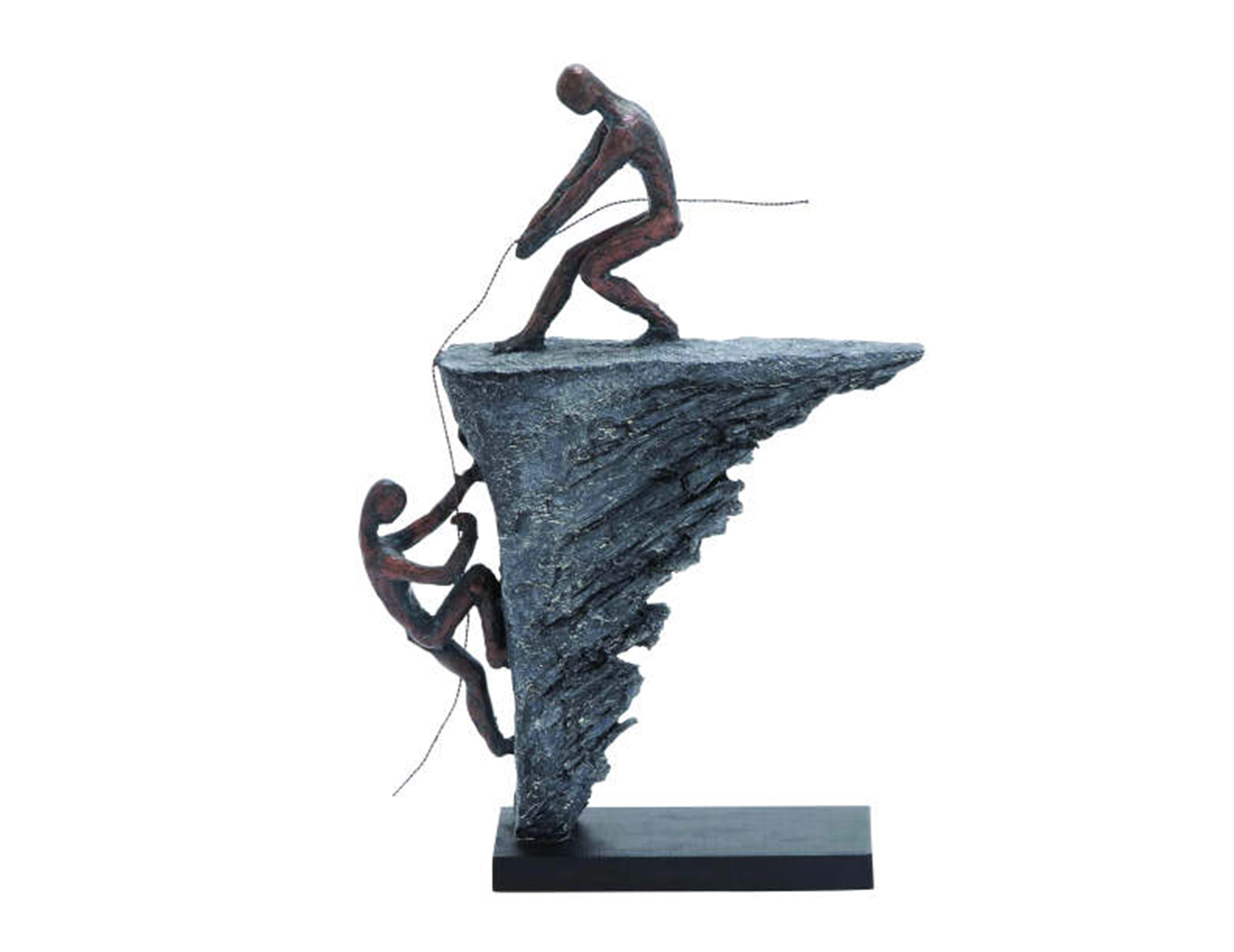 Rock Climbing Sculpture 11X16""