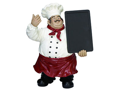 Bountiful Chef Menu Board19X15""