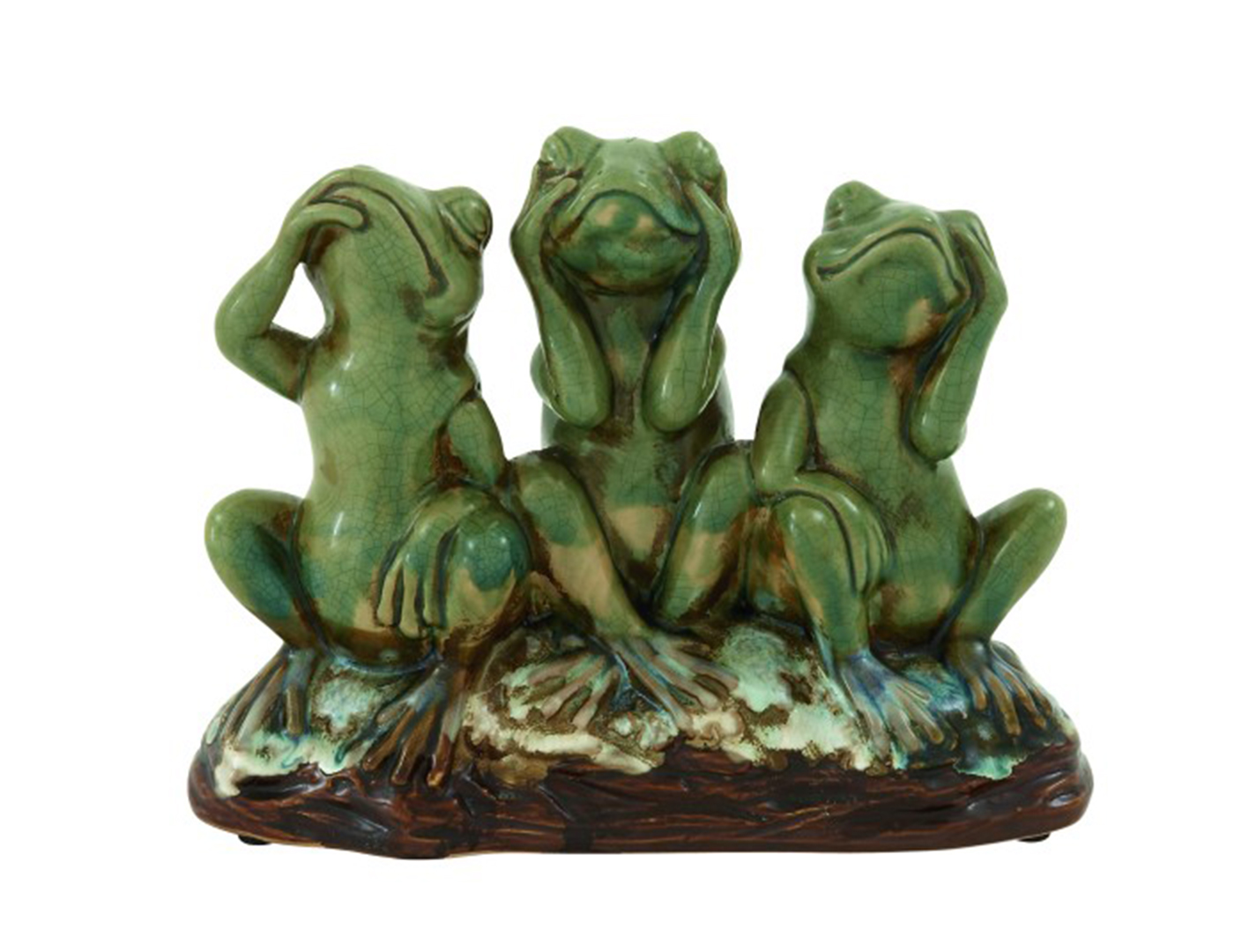 Group of Frogs Statue