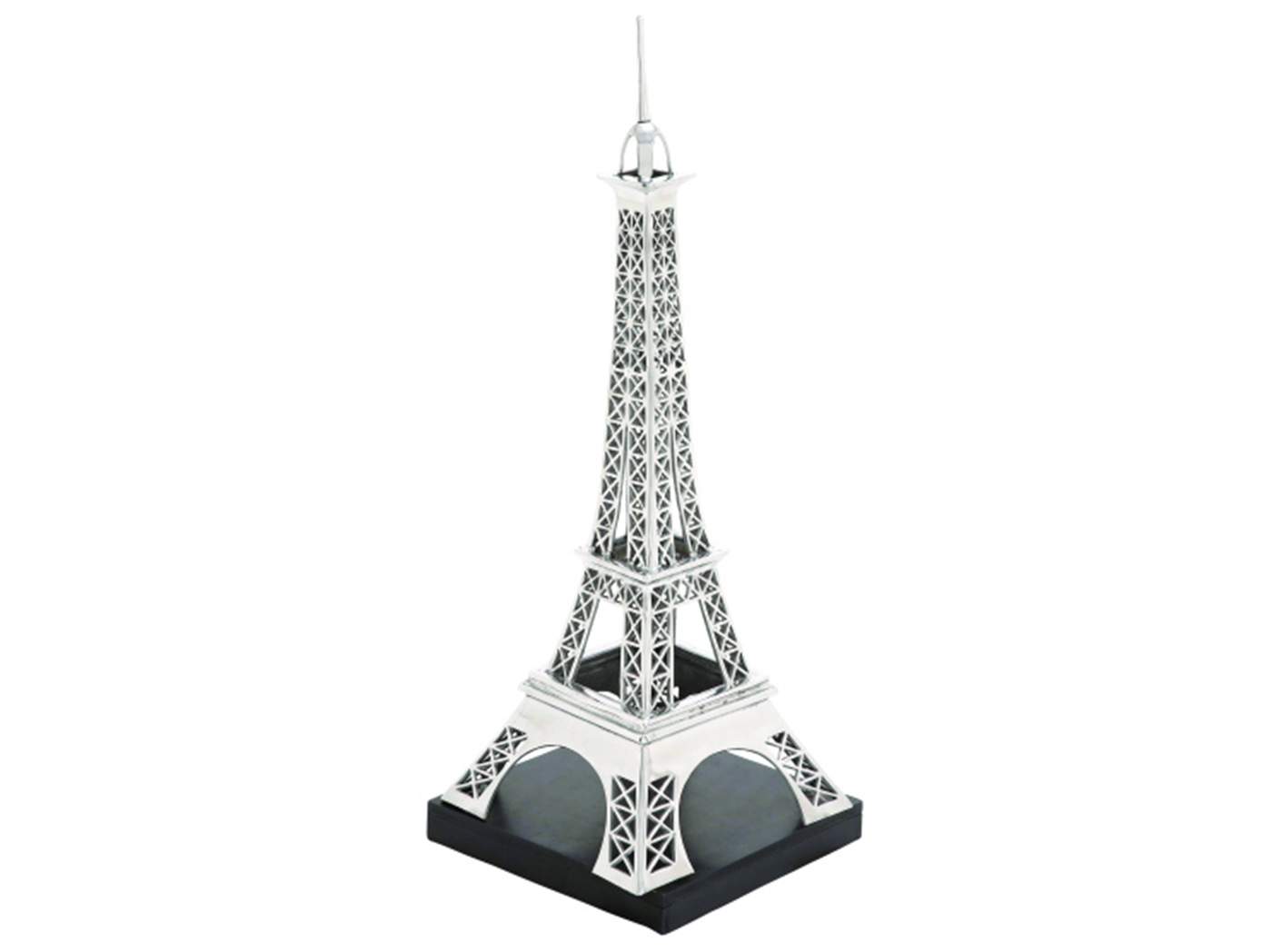 "Aluminum Eiffel Tower 16X42""H"