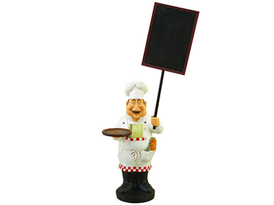 Toscana Chef with Chalkboard 48X20""