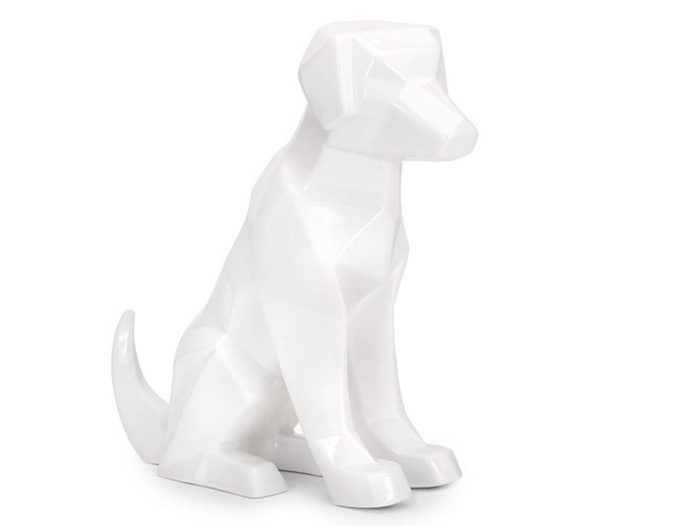 White Porcelain Dog