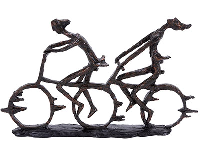 Bike Sculpture 13X21""