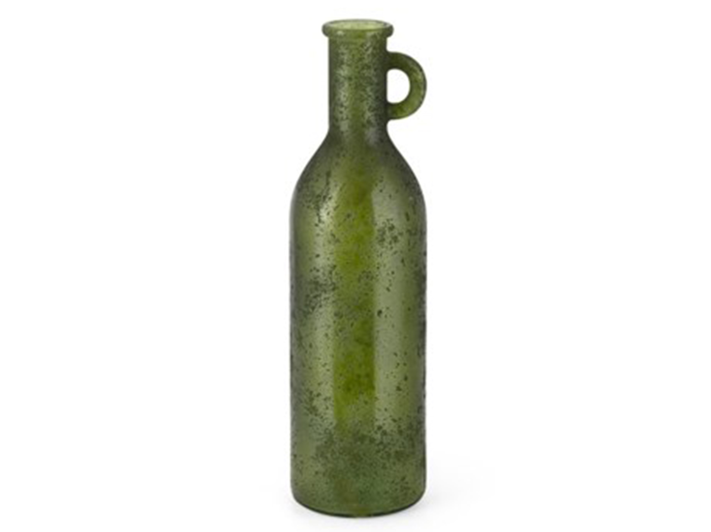 "Green Oversized Recycled Glass Bottle 6""W x 20""H"