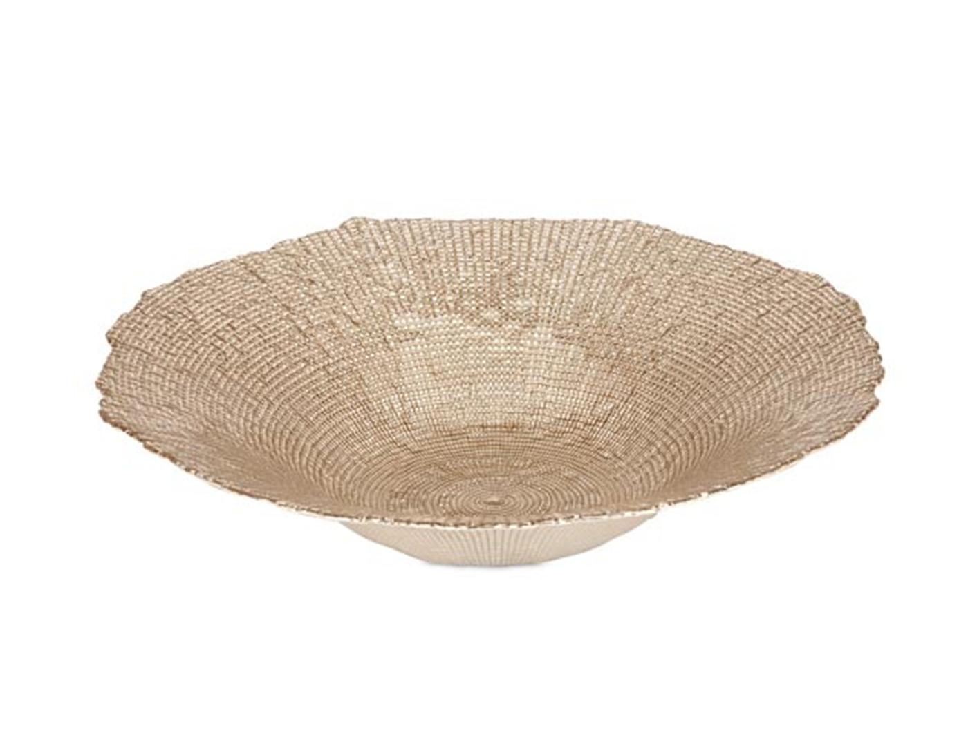 Gold Decorative Bowl Steinhafels Aqua And Gold Decorative Bowl