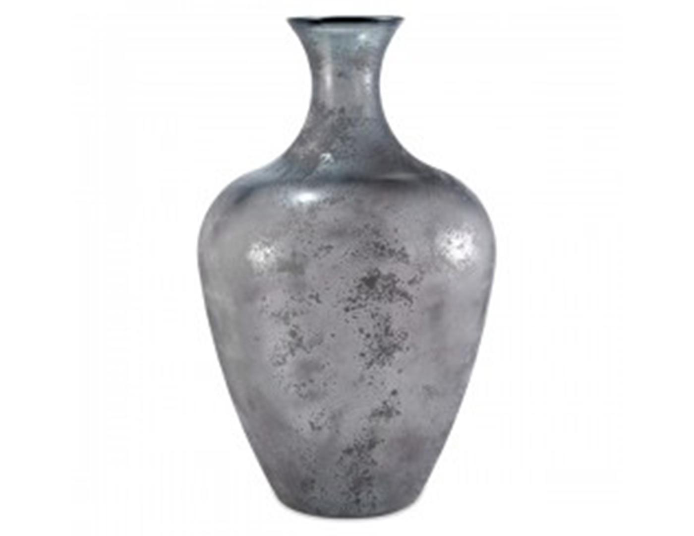 Steinhafels Large Grey Floor Vase