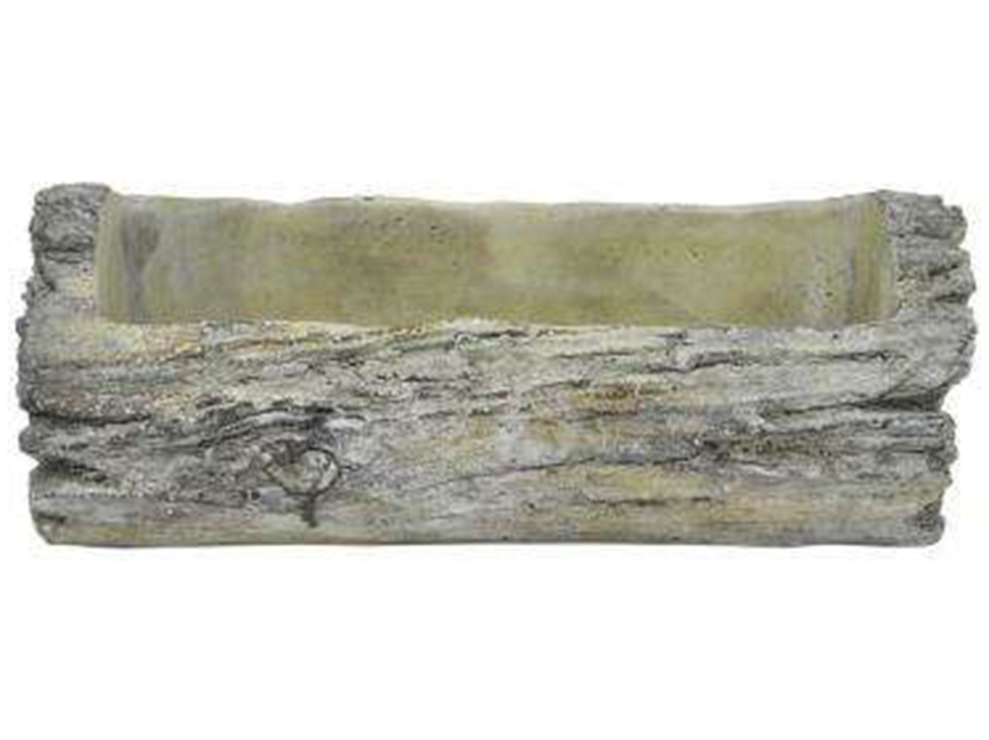"Medium Driftwood-Look Planter 12""W x 4""H"