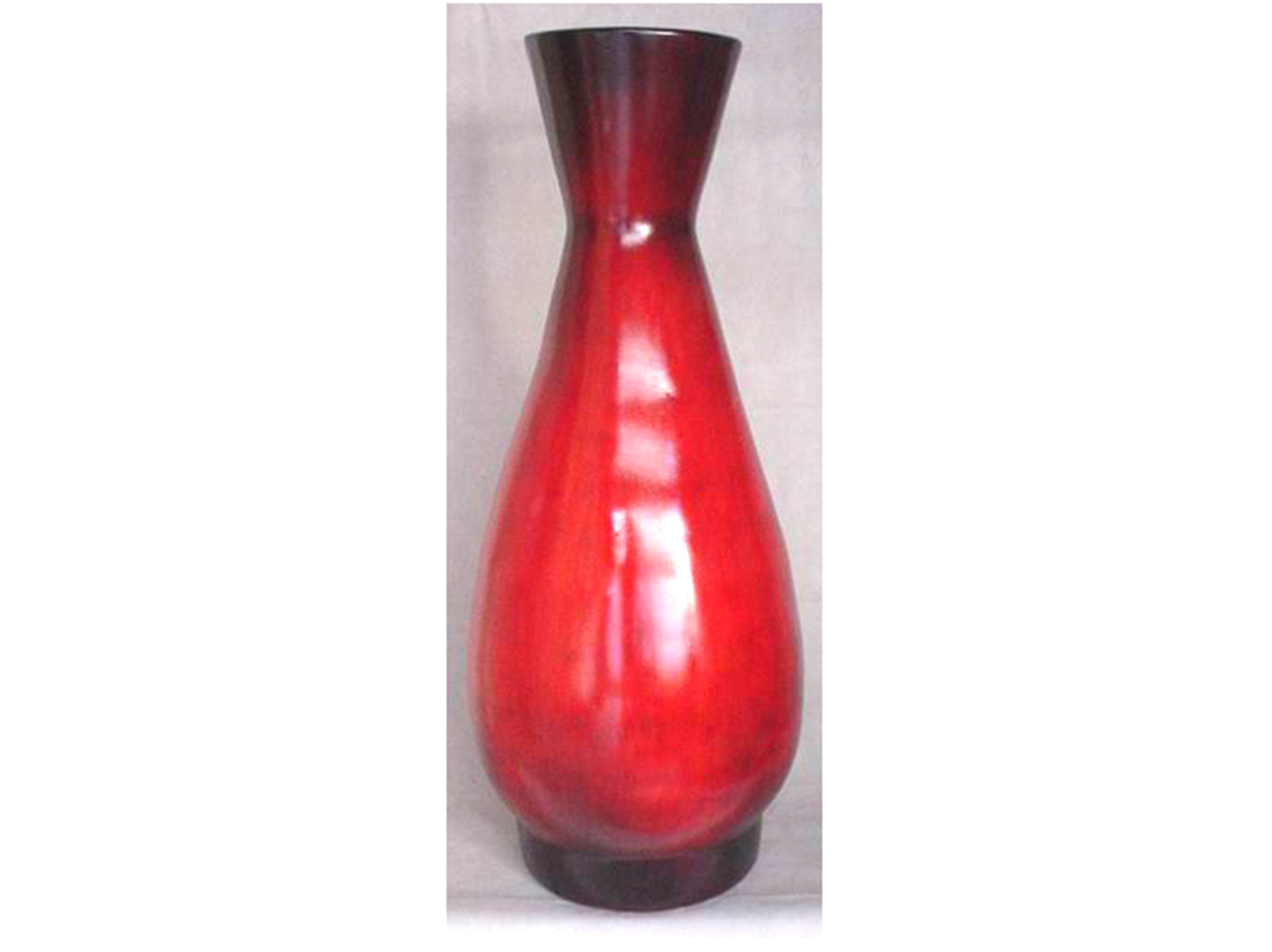 Ruby Red Ceramic Mexican Pottery 42X22""