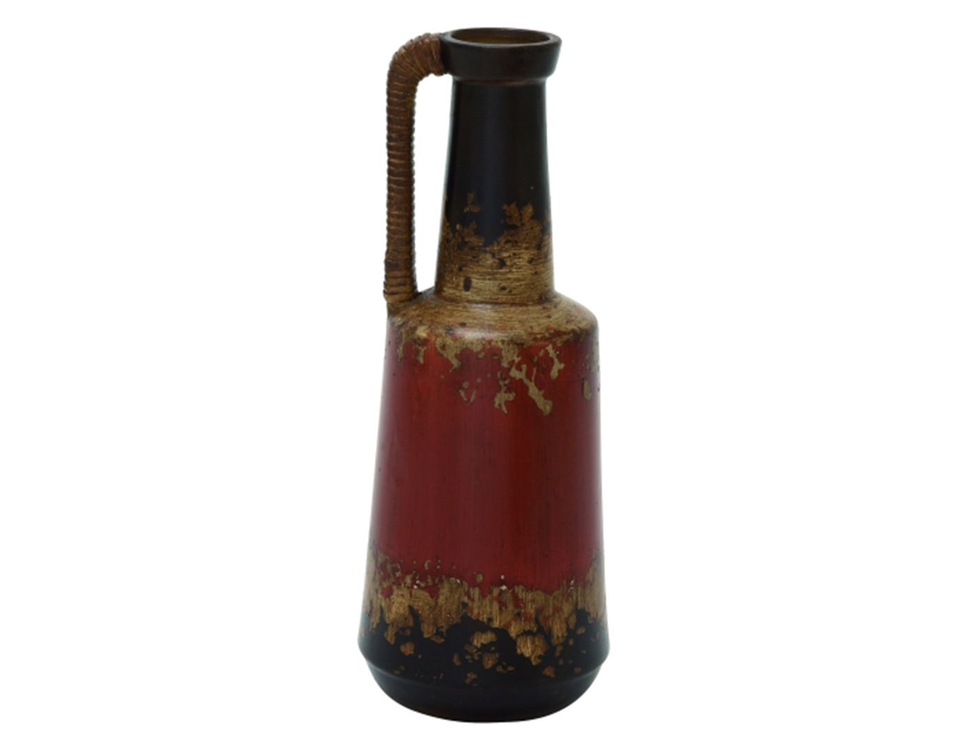 Jug with Rattan Handle 6X17""