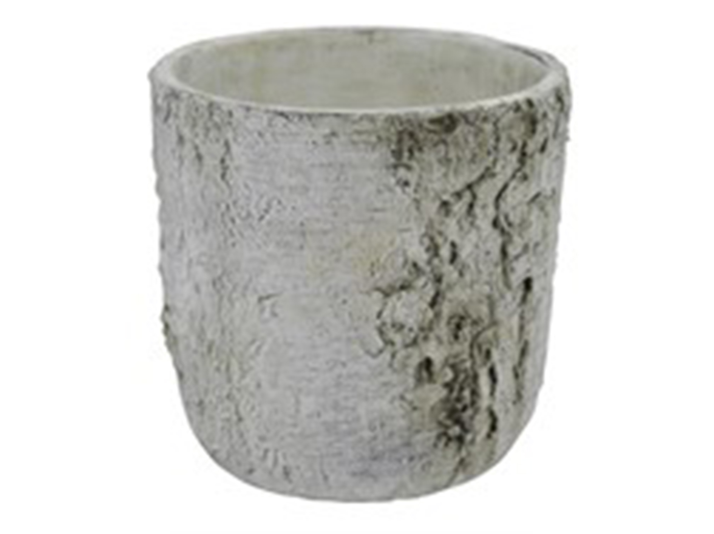 "Birch Look Pot 7.5X7.5""H"