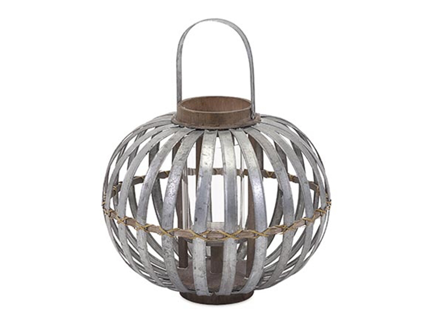 Small Galvanized Lantern