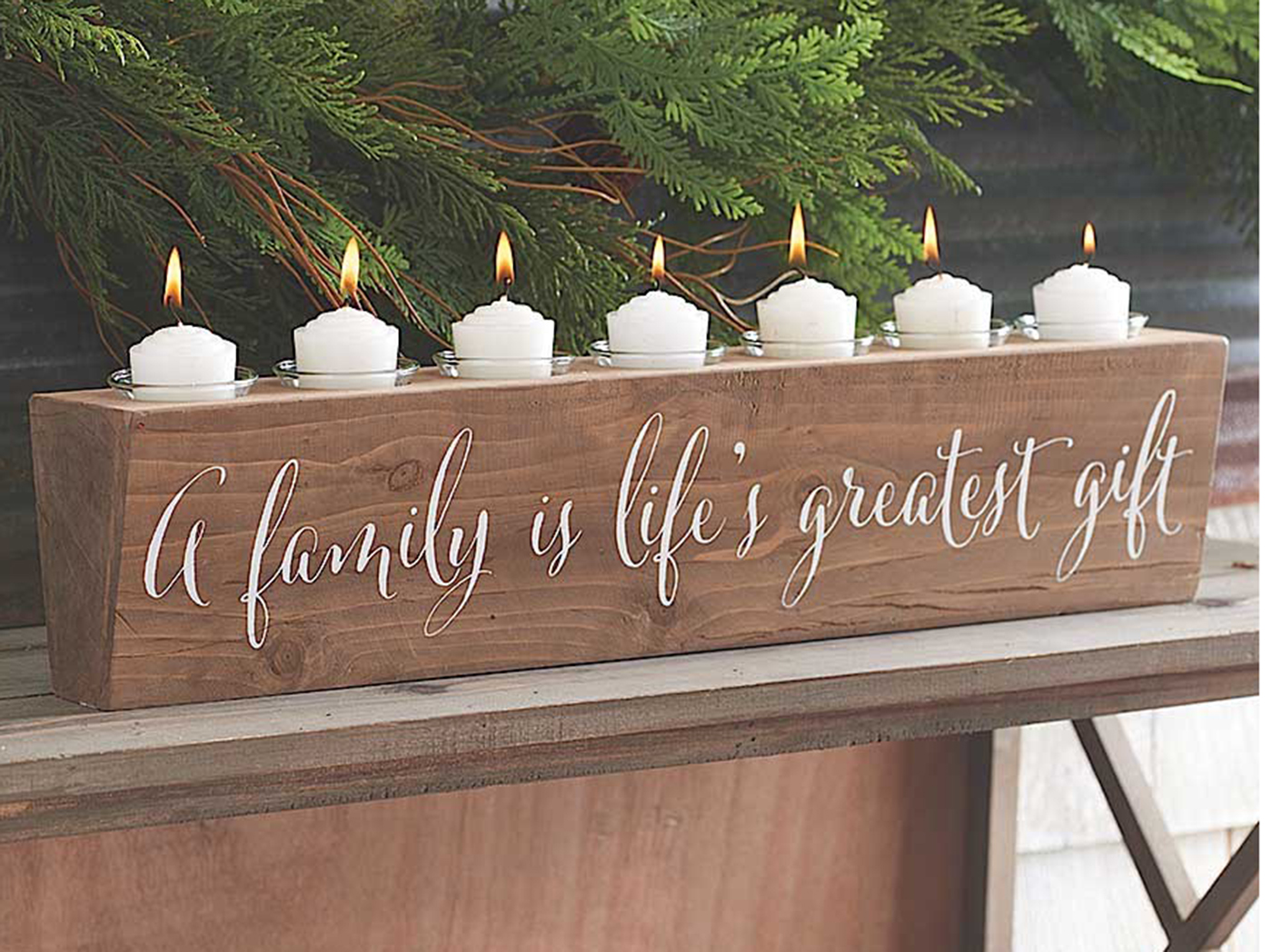 Greatest Gift Candleholder 5X22.5""