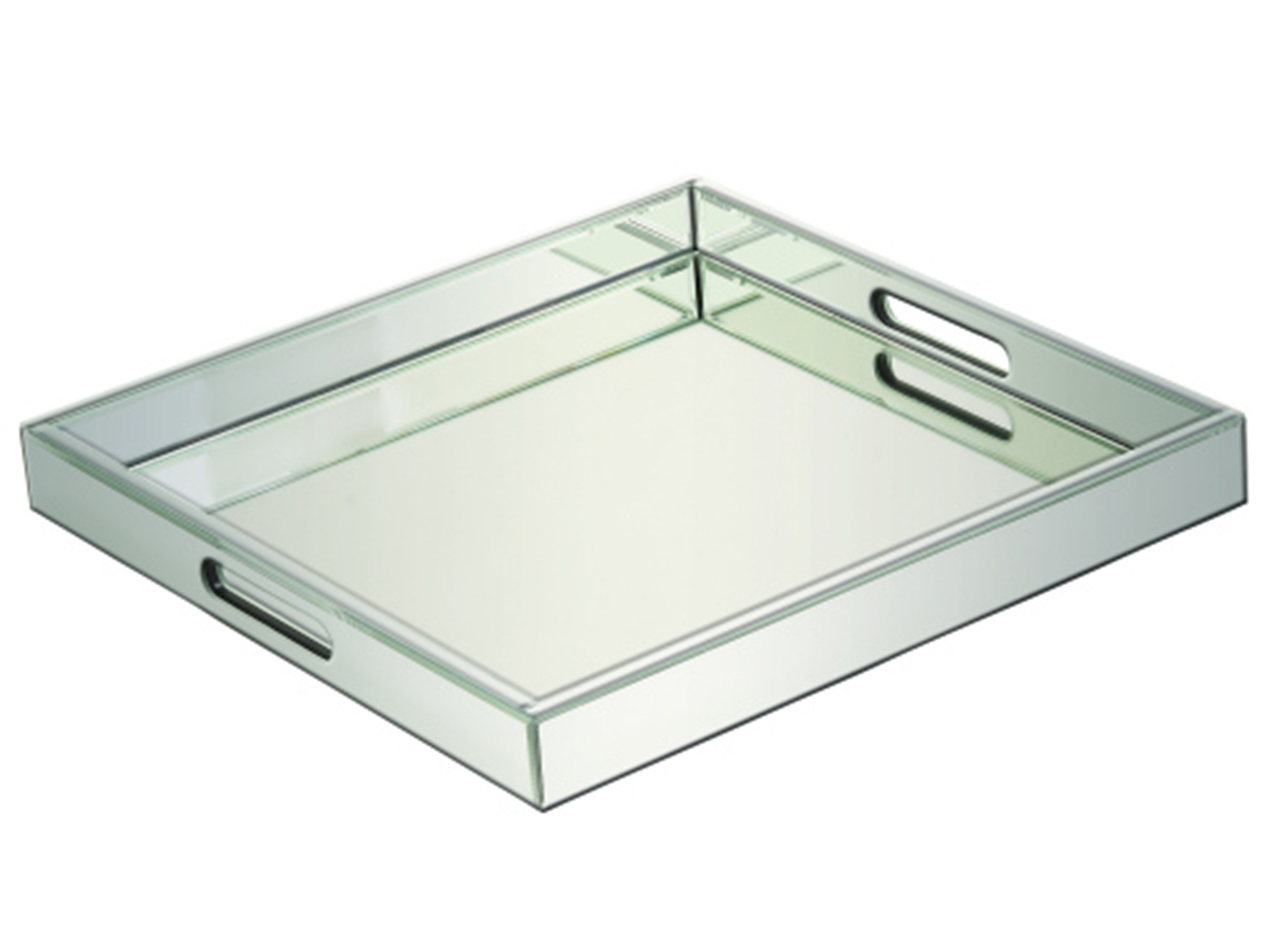 "Mirrored Tray 20""W"