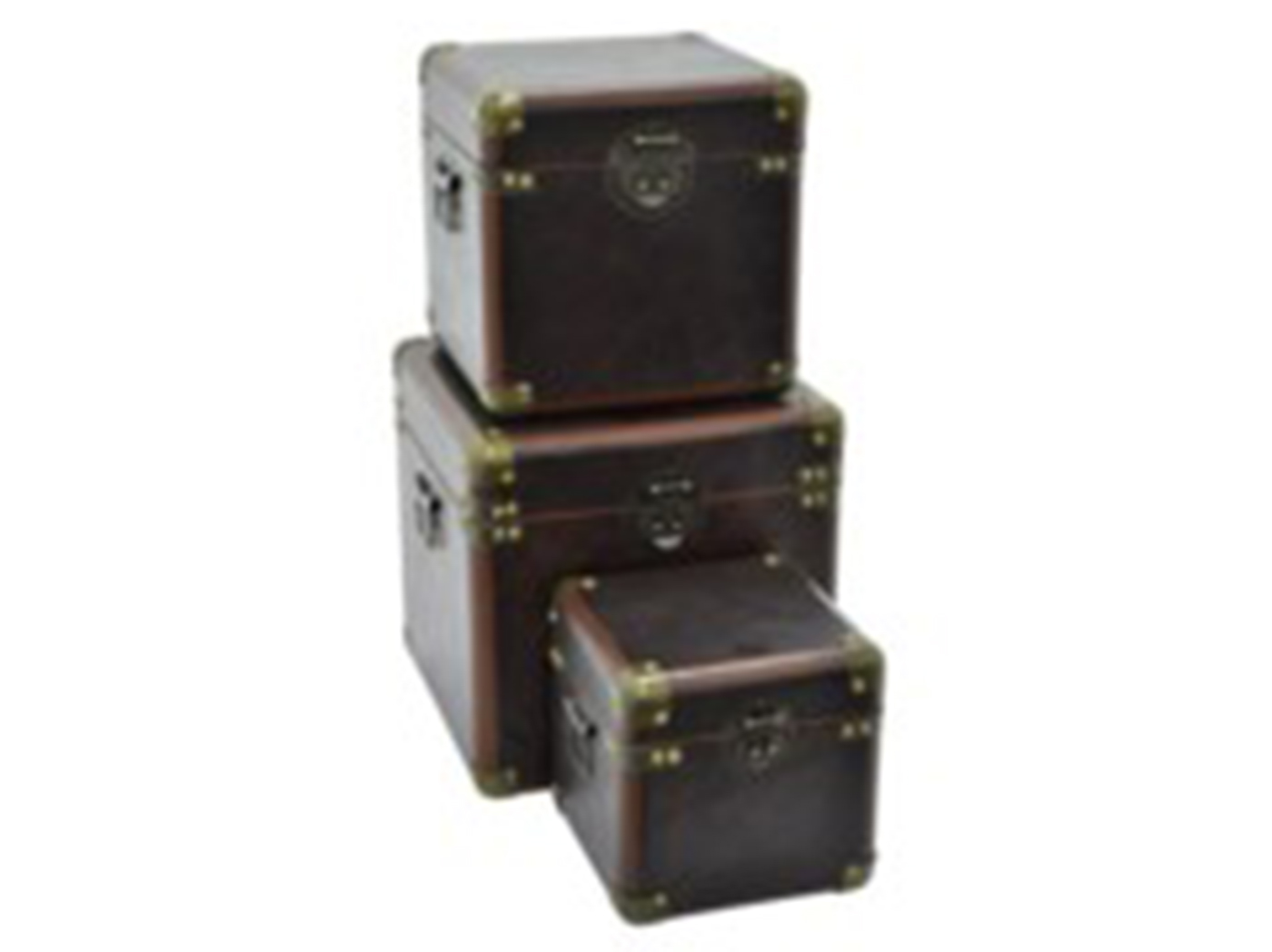 "Set of 3 Trunks 13.25""W"