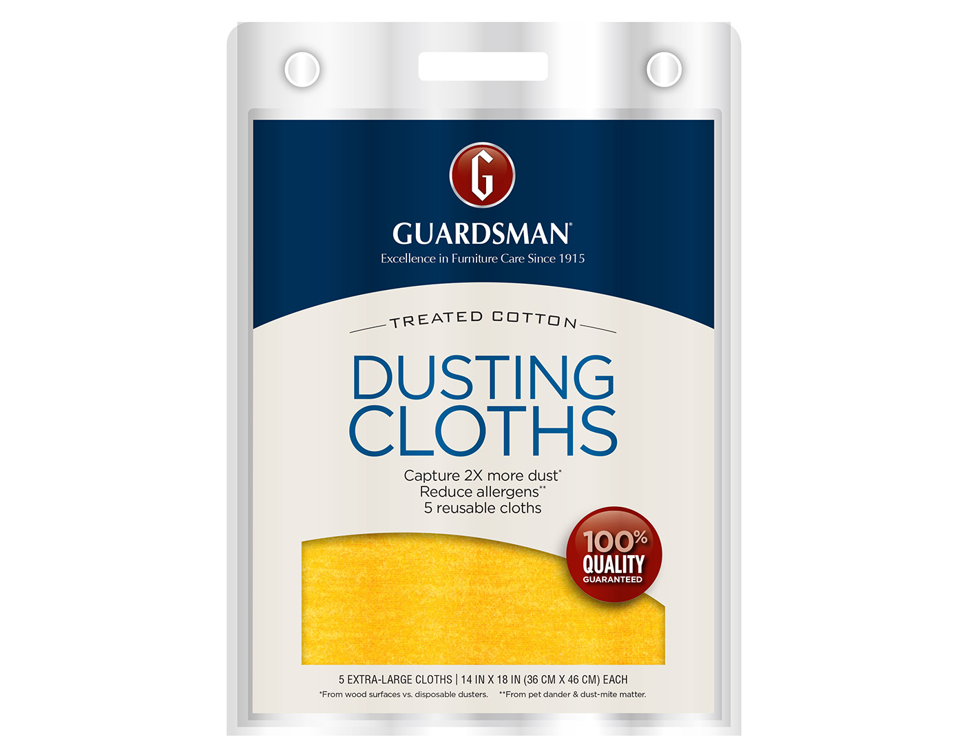 Ultimate Dusting Cloths 5-pack
