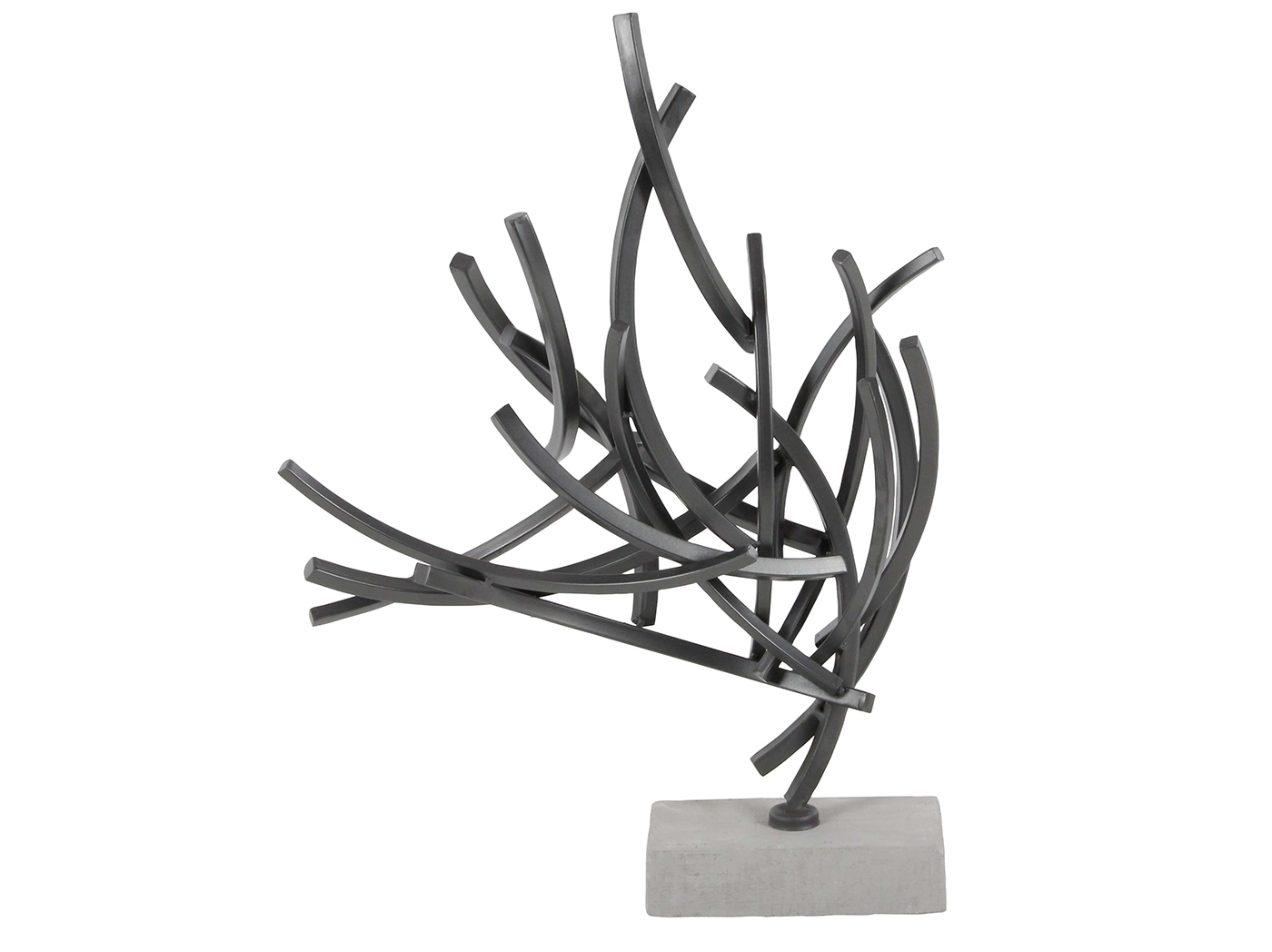 "Steel Abstract Sculpture 16""W x 23""H"