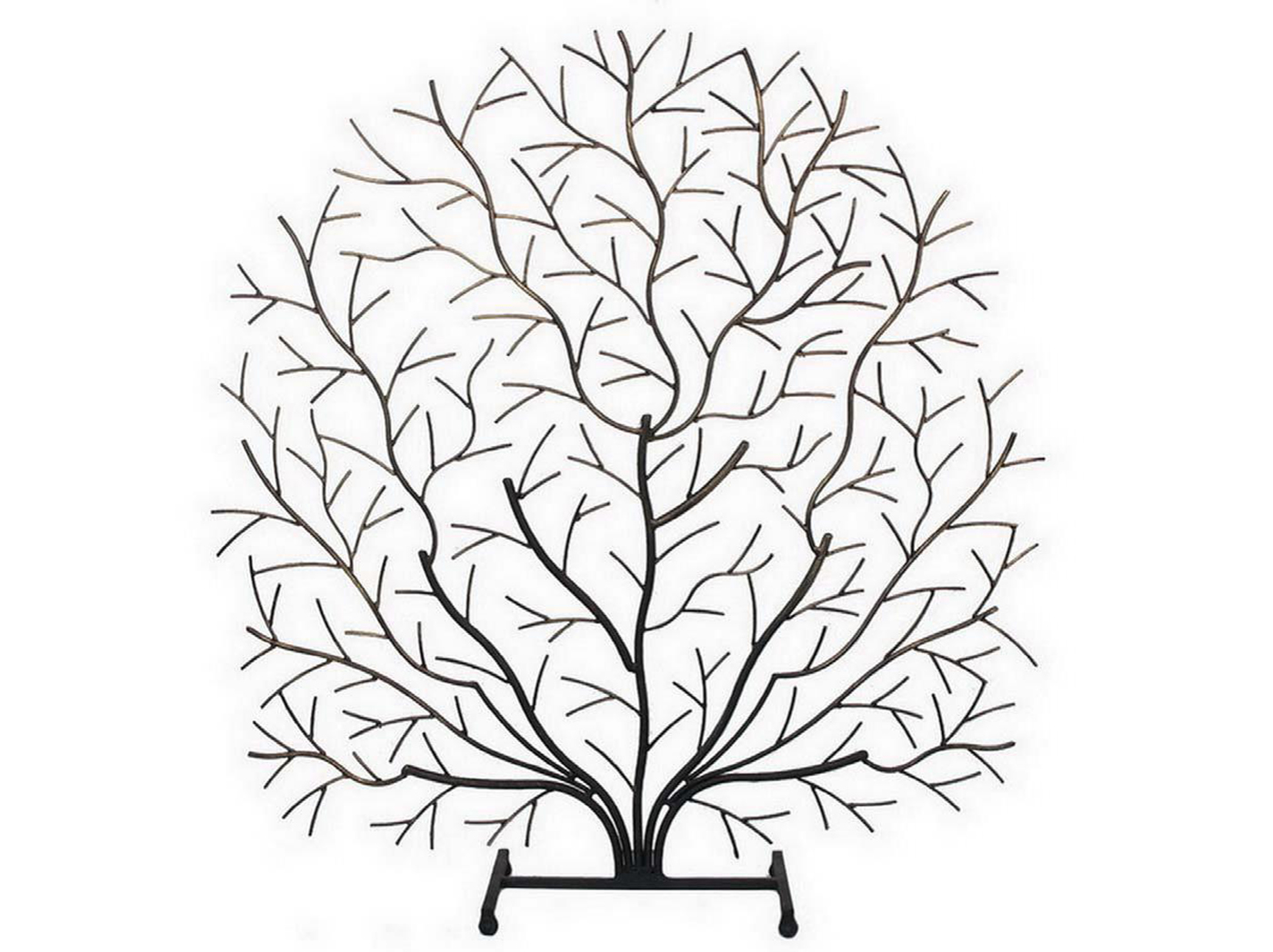 "Iron Tree Tabletop Decor 27""W x 29""H"