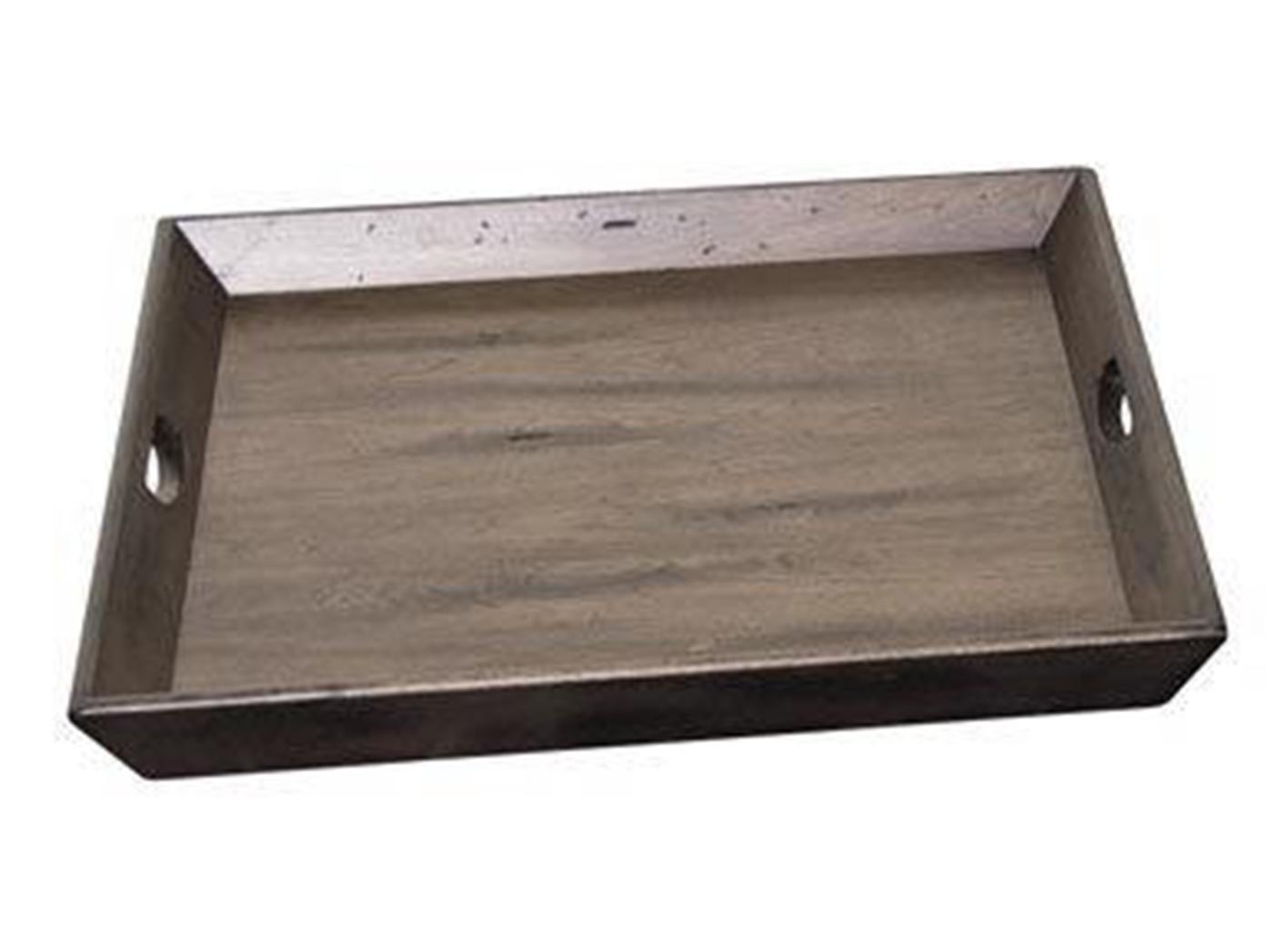 Brilliant Oversized Grey Wood Ottoman Tray 28X28 Bralicious Painted Fabric Chair Ideas Braliciousco