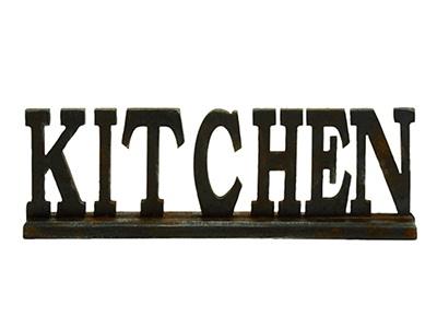 KITCHEN Sign 24X8""
