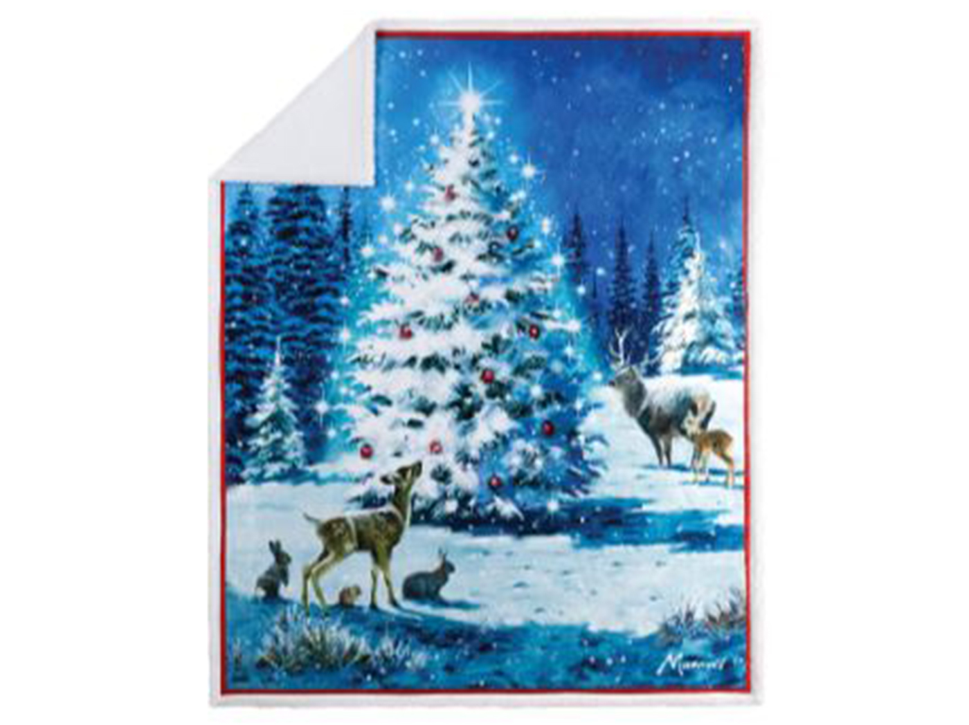 "Magical Tree Throw Blanket 48""W x 60""L"