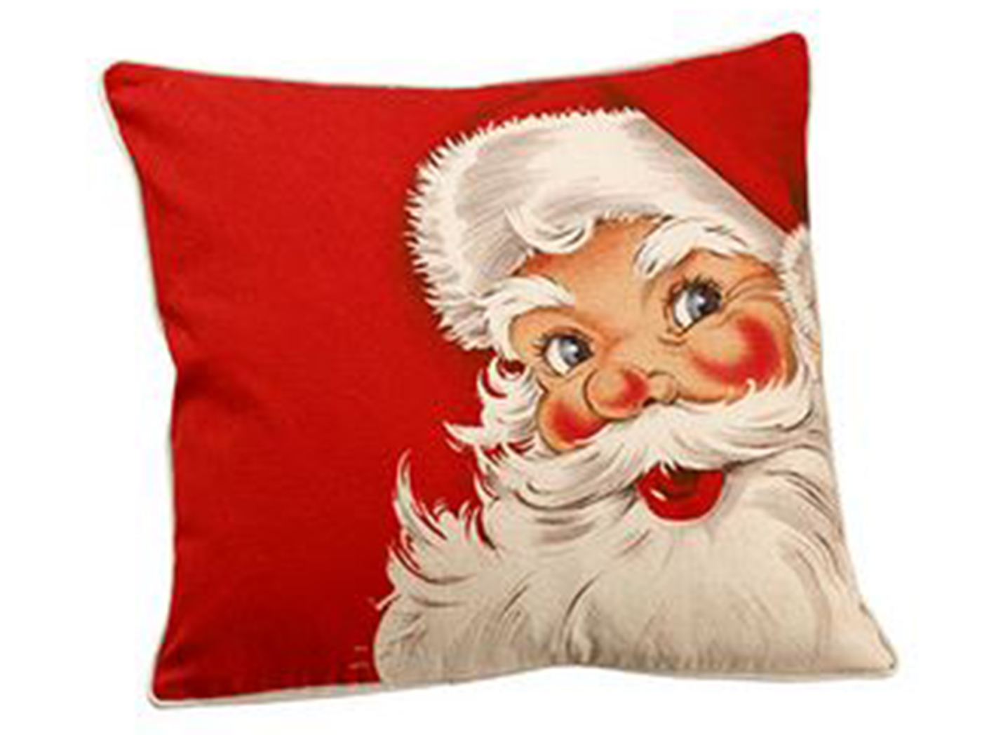 "Red Santa Pillow 16""W x 16""H"